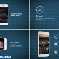 پروژه افتر افکت تیزر تبلیغاتی اپلیکیشن موبایل آیفون – App Promo