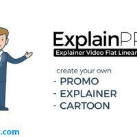پروژه افتر افکت ابزار کاراکتر کارتونی موشن گرافیک – ExplainPRO Explainer Video Flat Linear Toolkit
