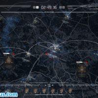 پروژه افتر افکت نقشه کره زمین با افکت هدآپ – HUD Map Pack