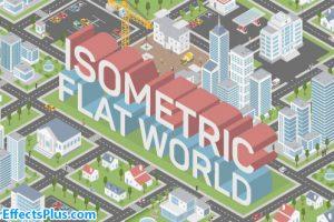 پروژه افتر افکت ساخت نقشه ایزومتریک شهر – Videohive Isometric Map Builder