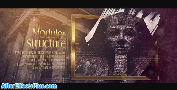 پروژه افتر افکت سفر به تاریخ - Journey to History