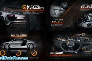 پروژه افتر افکت تیزر تبلیغاتی ماشین سیاه – New Black Car Promo