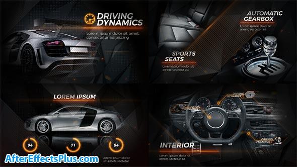 پروژه افتر افکت تبلیغ ماشین سیاه - New Black Car Promo