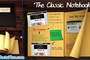 پروژه افتر افکت دفتر نوت بوک انیمیشنی – The Classic Notebook