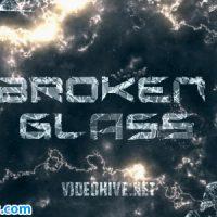 پروژه افتر افکت تریلر شیشه شکسته – Broken Glass Trailer