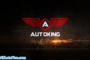 پروژه افتر افکت نمایش لوگو سریع با افکت جرقه آتش – Speed Logo Reveal