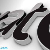پروژه افتر افکت لوگو سه بعدی سیاه – Black Classic 3D Logo