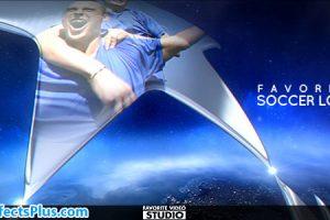 پروژه افتر افکت اینترو فوتبال – Videohive Favorite Soccer Sport Opener