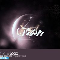 پروژه افتر افکت نمایش لوگو ماه رمضان – Videohive Ramadan Particle Logo