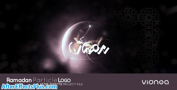 پروژه افتر افکت نمایش لوگو ماه رمضان - Videohive Ramadan Particle Logo
