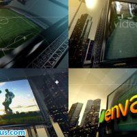 پروژه افتر افکت اینترو شهر فوتبال – Videohive Soccer City