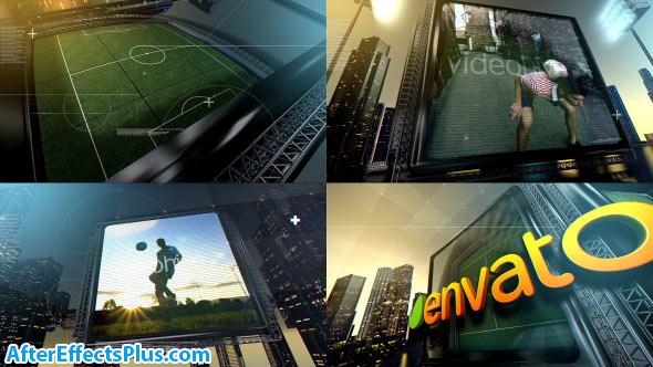 پروژه افتر افکت اینترو شهر فوتبال - Videohive Soccer City