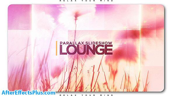 پروژه افتر افکت اسلایدشو پارالاکس رمانتیک - Videohive Lounge Parallax Slideshow