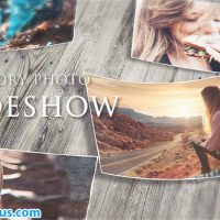 پروژه افتر افکت اسلایدشو چند منظوره خاطرات – Videohive Memory Photo Slideshow