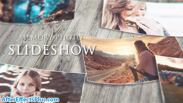 پروژه افتر افکت اسلایدشو چند منظوره خاطرات - Videohive Memory Photo Slideshow