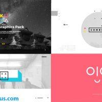 پروژه افتر افکت پکیج موشن گرافیک – Videohive Motion Graphics Pack