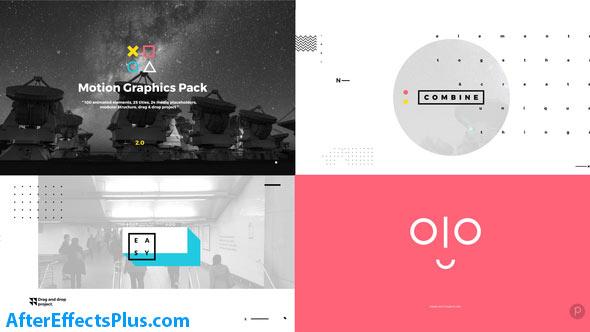 پروژه افتر افکت پکیج موشن گرافیک - Videohive Motion Graphics Pack