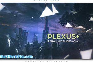 پروژه افتر افکت اسلایدشو پارالاکس – Plexus Plus Parallax Slideshow
