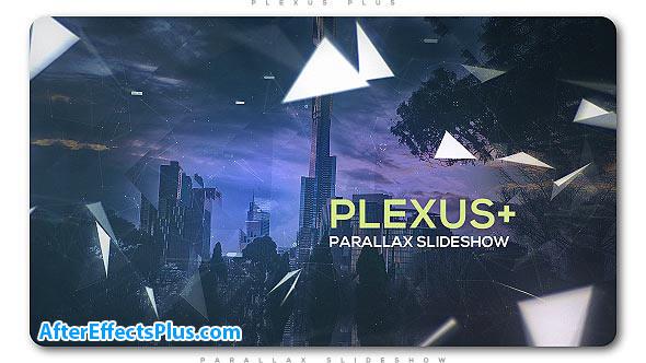 پروژه افتر افکت اسلایدشو پارالاکس - Plexus Plus Parallax Slideshow