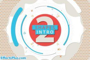 پروژه افتر افکت اینترو اشکال هندسی – Videohive Shapes Intro 2