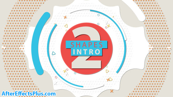 پروژه افتر افکت اینترو اشکال هندسی - Videohive Shapes Intro 2