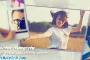 پروژه افتر افکت اسلایدشو عکاسی – Slideshow photography