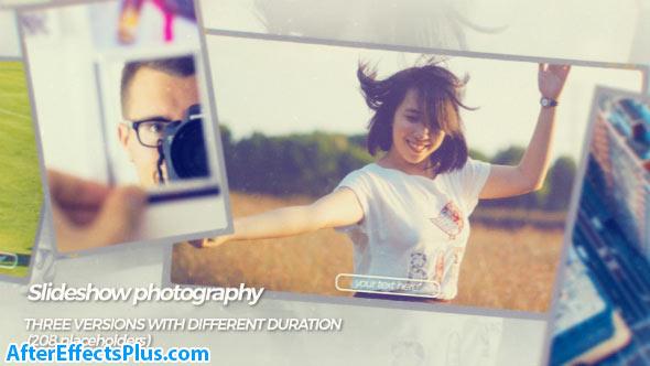 پروژه افتر افکت اسلایدشو عکاسی - Videohive Slideshow photography
