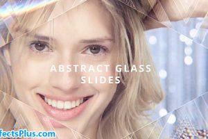 پروژه افتر افکت اسلایدشو شیشه ای چند منظوره – Abstract Glass Slides