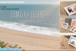 پروژه افتر افکت اسلایدشو گالری عکس در ساحل – Beach Photo Slide