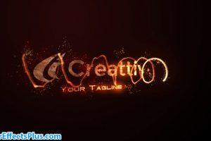 پروژه افتر افکت اینترو و نمایش لوگو با افکت آتش – Fire Logo
