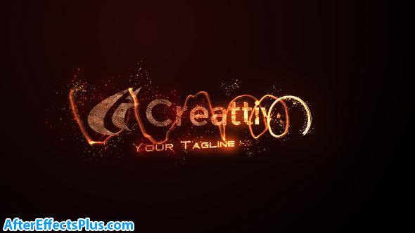 پروژه افتر افکت اینترو و نمایش لوگو با افکت آتش - Fire Logo