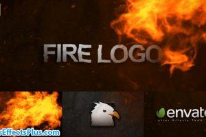 پروژه افتر افکت لوگو با افکت آتش – Videohive Fire Logo