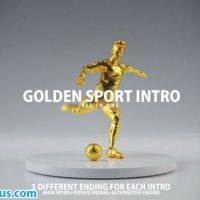 پروژه افتر افکت اینترو کاپ طلایی فوتبال و بسکتبال – Golden Sport Intro