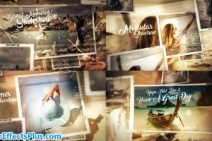 پروژه افتر افکت اسلایدشو گالری عکس چند منظوره – Great Times Photo Gallery Slideshow