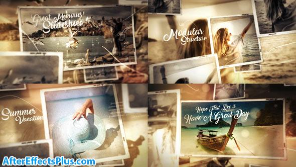 پروژه افتر افکت اسلایدشو گالری عکس چند منظوره - Great Times Photo Gallery Slideshow