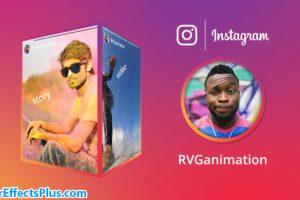 پروژه افتر افکت استوری سه بعدی اینستاگرام – Instagram Stories