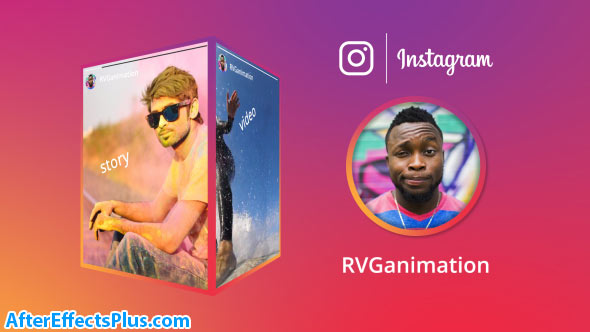 پروژه افتر افکت استوری سه بعدی اینستاگرام - Videohive Instagram Stories 21178011