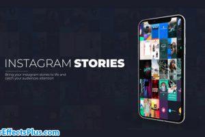 پروژه افتر افکت استوری اینستاگرام – Instagram Stories