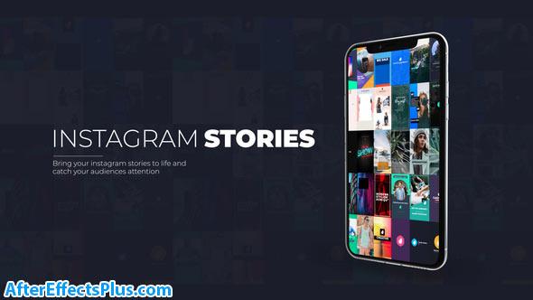 پروژه افتر افکت استوری اینستاگرام - Instagram Stories