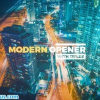 پروژه افتر افکت اسلایدشو مدرن چند منظوره به همراه متن – Modern Opener With Titles