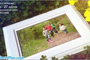 پروژه افتر افکت اسلایدشو خانوادگی چند منظوره در فصل بهار – Spring Family Slideshow