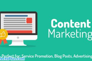 پروژه افتر افکت تیزر تبلیغاتی بازاریابی – Content Marketing Opener