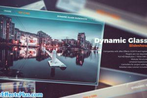 پروژه افتر افکت اسلایدشو شیشه ای دینامیک – Dynamic Glass Slideshow