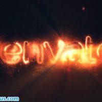پروژه افتر افکت نمایش لوگو حماسی با افکت آتش – Epic Fire Logo