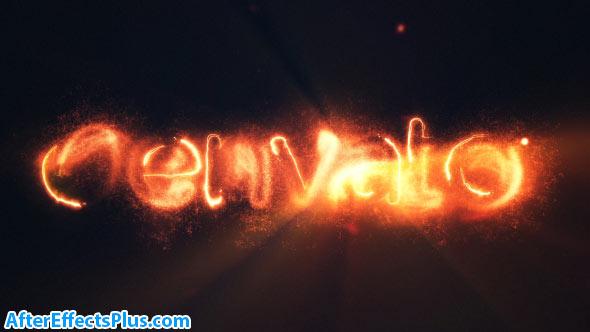 پروژه افتر افکت نمایش لوگو حماسی با افکت آتش - Epic Fire Logo