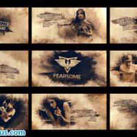 پروژه افتر افکت اسلایدشو و تریلر فریز فریم – Freeze Moment Grunge Trailer