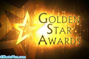 پروژه افتر افکت مراسم اهدای جوایز ستارگان – Golden Star Awards Broadcast Pack
