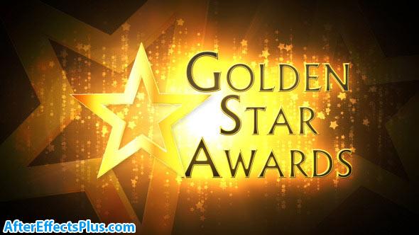 پروژه افتر افکت مراسم اهدای جوایز ستارگان - Golden Star Awards Broadcast Pack