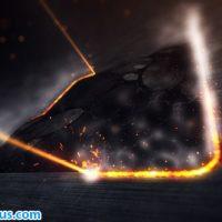 پروژه افتر افکت نمایش لوگو با لیزر صنعتی – Industrial Laser Reveal