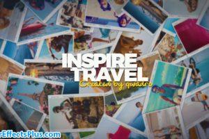 پروژه افتر افکت اسلایدشو و گالری عکس مسافرت چند منظوره – Inspiring Travel Photo Slideshow